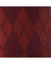 Burlington - Red Burlington Hampstead Wool Oxblood Socks for Men - Lyst