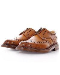 Grenson | Multicolor The Triple Welt Archie Tan Brogue Shoes for Men | Lyst