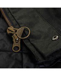 Barbour - Blue Barbour International Sandford Navy Waxed Jacket for Men - Lyst