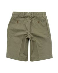 Hackett | Hackett Core Stretch Military Green Shorts for Men | Lyst