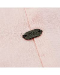 BOSS Green - C-barbuino Pink Shirt for Men - Lyst