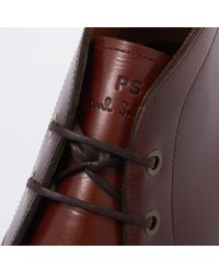 Paul Smith - Dark Brown Cleon Boots for Men - Lyst