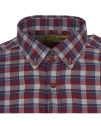 Barbour - Gray Grey Marl Hero Shirt for Men - Lyst
