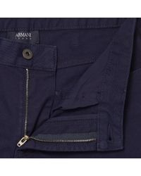 Armani Jeans - Blue Mare J06 Slim Fit Jeans for Men - Lyst