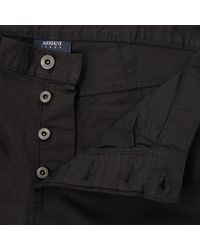 Armani Jeans - J21 Black Chino Jeans 8n6j21 6n0lz for Men - Lyst