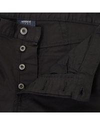 Armani Jeans - J21 Black Chino Jeans 8n6j21 6n0lz for Men - Lyst