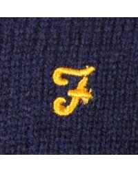 Farah - Blue Rosecroft Navy Jumper for Men - Lyst