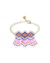 Shourouk | Mambo Pink Bracelet | Lyst