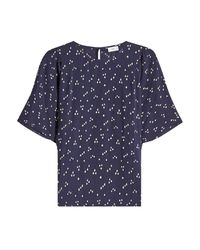 Closed - Blue Printed Blouse - Lyst