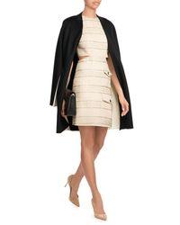 Rag & Bone - Black Colorblocked Wool Coat - Lyst
