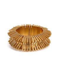 Eddie Borgo | Metallic Textured Bracelet | Lyst