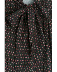 Philosophy Di Lorenzo Serafini - Black Printed Dress - Lyst
