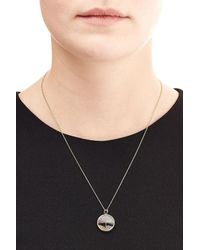 Aurelie Bidermann | Metallic Baby Chivor 18kt Gold Necklace With Sapphires | Lyst