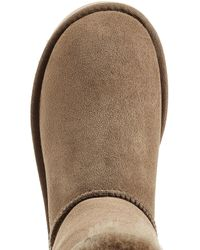 Ugg - Blue Bailey Button Suede Boots - Lyst