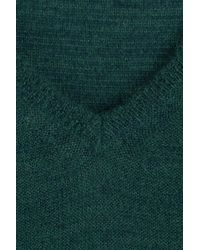 Closed - Green Pullover With Wool - Lyst