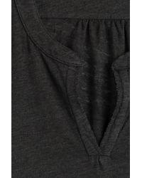 Velvet - Black Jersey Top With V-neckline - Lyst