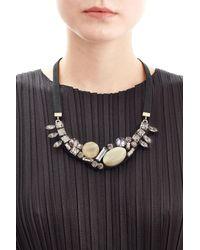Marni | Metallic Crystal Embellished Necklace | Lyst