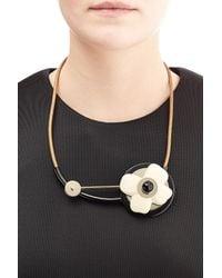Marni - Metallic Pendant Necklace - Lyst