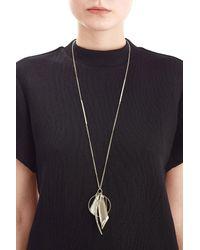 Alexis Bittar | Metallic Crystal Encrusted Multi Charm Pendant Necklace | Lyst