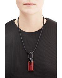 Marni - Black Pendant Necklace - Lyst