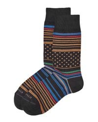 Etro | Multicolor Printed Cotton Socks for Men | Lyst