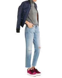 Iris Von Arnim   Gray Cashmere Turtleneck Pullover   Lyst