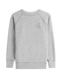 Étoile Isabel Marant - Gray Cotton Sweatshirt - Lyst