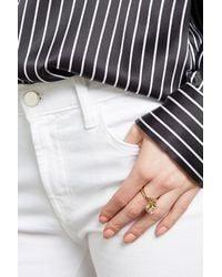 Marc Jacobs | Metallic Embellished Ring | Lyst