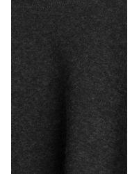 Majestic Filatures - Black Cotton-cashmere Poncho - Lyst