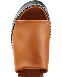 Robert Clergerie - Brown Leather Wedges - Lyst