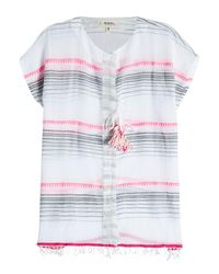 Lemlem - Multicolor Striped Cotton Tunic Top - Lyst
