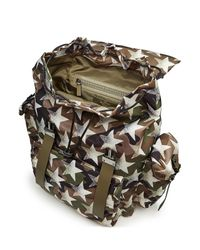 Valentino | Multicolor Camustars Backpack With Leather for Men | Lyst