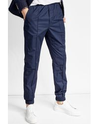 Marni - Blue Cotton Joggers for Men - Lyst