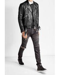 Golden Goose Deluxe Brand | Black Leather Jacket for Men | Lyst