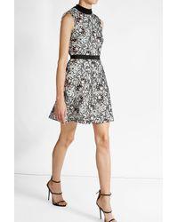 21dd485e4b14 Self-Portrait Nightshade Mini Dress in Black - Lyst