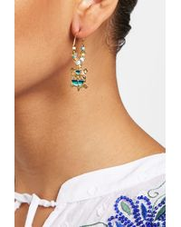 Gas Bijoux - Metallic A Tartaruga Earrings - Lyst
