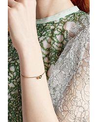 Delfina Delettrez | 18kt Yellow Gold Bracelet With Emerald | Lyst