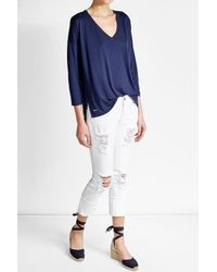 Polo Ralph Lauren | Blue Jersey T-shirt | Lyst