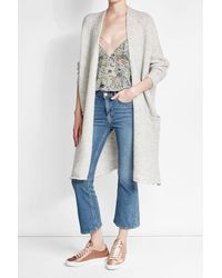 American Vintage - Multicolor Cardigan With Wool And Mohair - Lyst