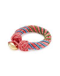 Aurelie Bidermann   Red Bracelet With Glass Beads   Lyst