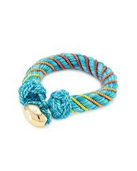 Aurelie Bidermann   Blue Bracelet With Glass Beads   Lyst