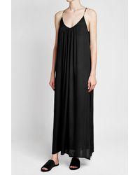 6b387dede1 Lyst - Heidi Klum Maxi Dress in Black