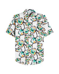 Marni - Multicolor Printed Cotton Shirt for Men - Lyst