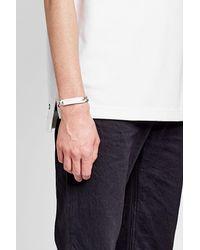 Maison Margiela - Metallic Silver Chain Bracelet for Men - Lyst