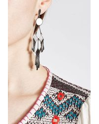 Etro - Metallic Chandelier Earrings - Lyst