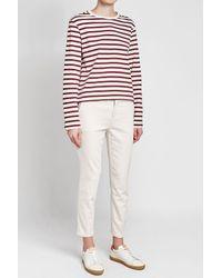 Joseph - Multicolor Striped Cotton Top - Lyst