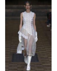 Simone Rocha - White Silk Organza Dress - Lyst