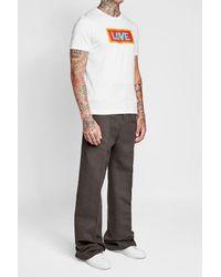 Fendi - Multicolor Printed Cotton T-shirt for Men - Lyst
