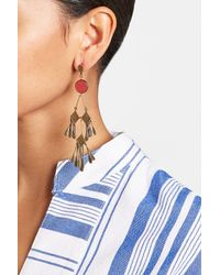 Etro - Blue Chandelier Earrings - Lyst