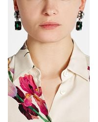 Marni | Multicolor Embellished Clip On Earrings | Lyst